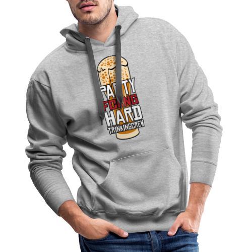 Partyhard Trinking Crew - Männer Premium Hoodie