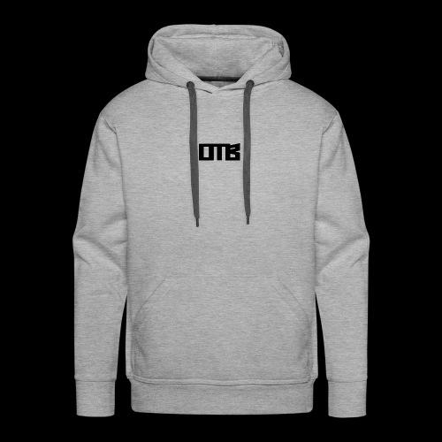 OTB Logo Black - Men's Premium Hoodie