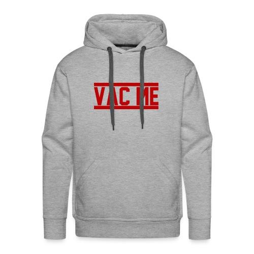 Vac Me Red/Black Hoodie - Men's Premium Hoodie