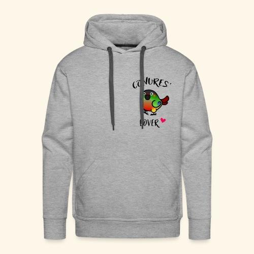 Conures' Lover: opaline - Sweat-shirt à capuche Premium pour hommes