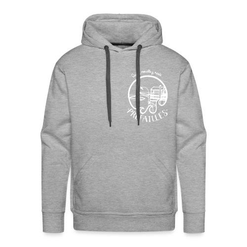 Les pêcheries de Prefailles - Sweat-shirt à capuche Premium pour hommes