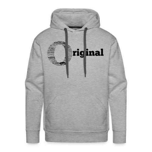 original grey - Men's Premium Hoodie