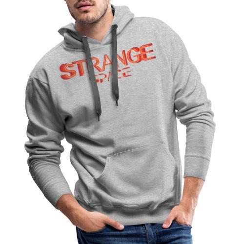 STRANGE SPACE H/F - Sweat-shirt à capuche Premium pour hommes