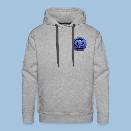 SompigGames Logo Vernieuwd - Mannen Premium hoodie