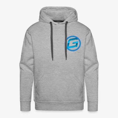 Logo klein - Mannen Premium hoodie