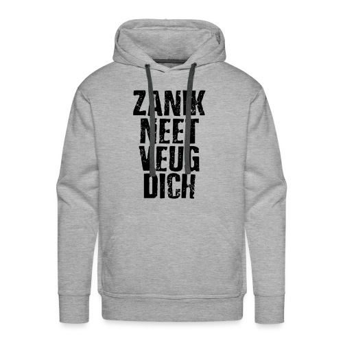 Zanik neet - Mannen Premium hoodie