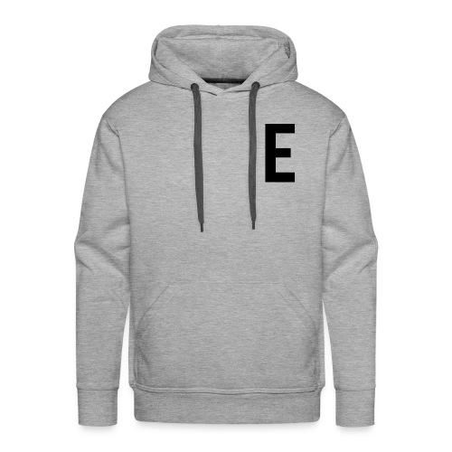 letter e 512 png - Men's Premium Hoodie