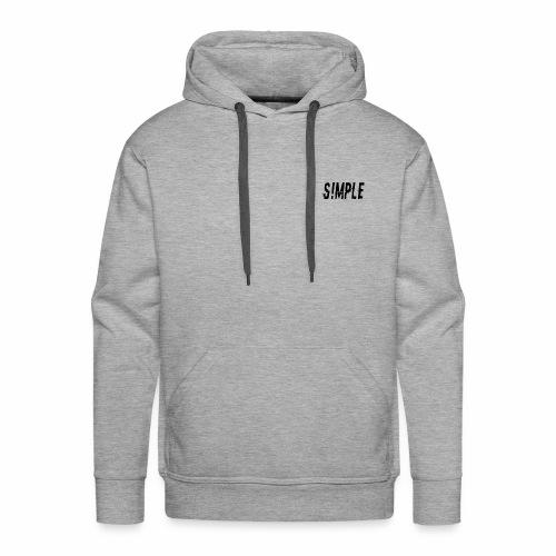 S!MPLE Logo - Men's Premium Hoodie