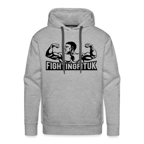 new FFUK black vector - Men's Premium Hoodie