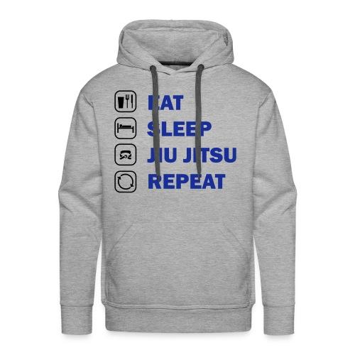 Eat, Sleep, Jiu Jitsu, Repeat - Men's Premium Hoodie