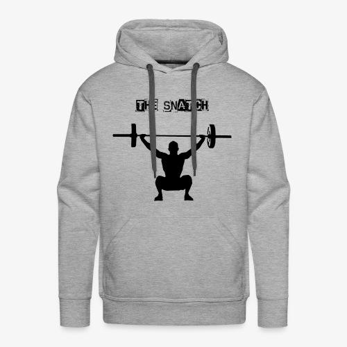 THE SNATCH BLACK - Mannen Premium hoodie