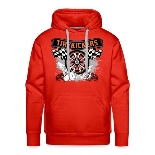 Tirekickers – Wheel ans Racing Flags - Männer Premium Hoodie