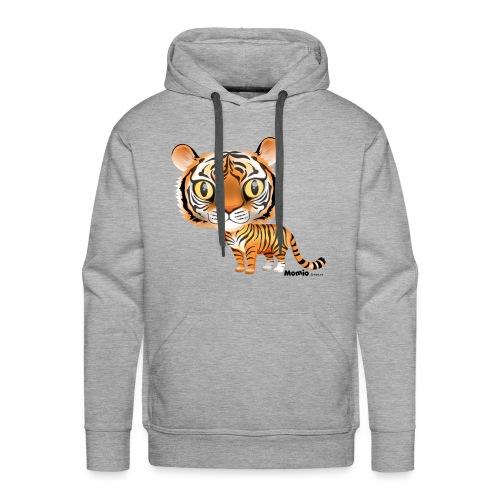 Tiger - Premium hettegenser for menn