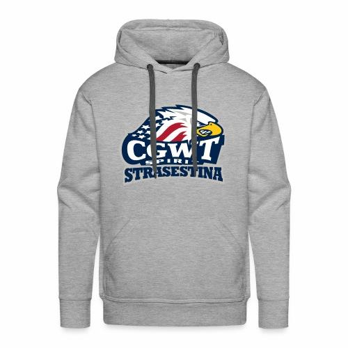 CGWT - Felpa con cappuccio premium da uomo