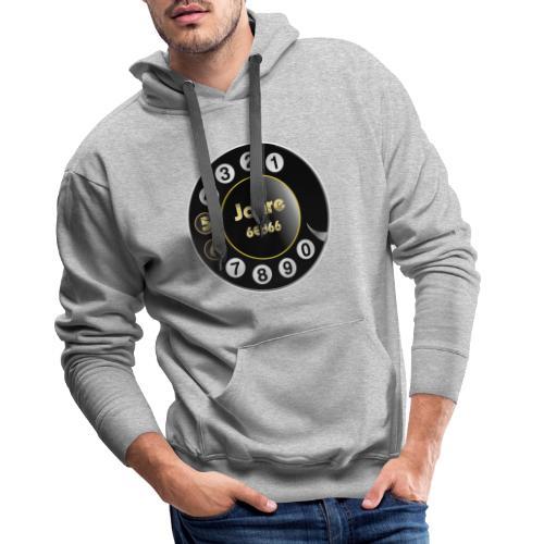 Wählscheibe - Männer Premium Hoodie