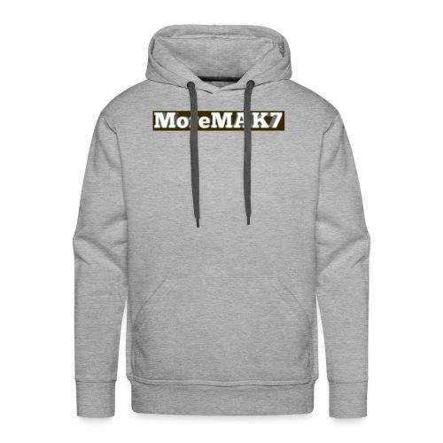 MoreMAK7 - Men's Premium Hoodie