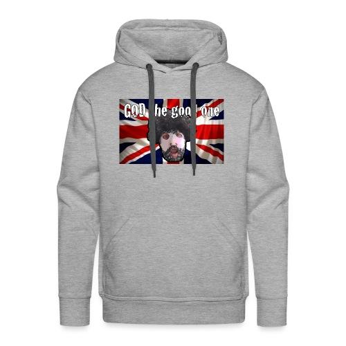 God the good one union Jack - Men's Premium Hoodie