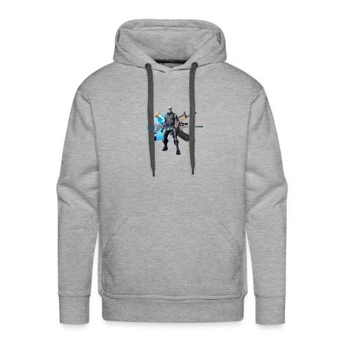 SKULL TROOPER - Bluza męska Premium z kapturem