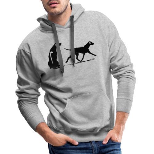 loop zit rr - Mannen Premium hoodie