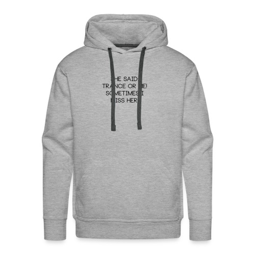 meblack - Herre Premium hættetrøje