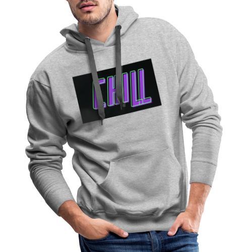 Chill logo - Männer Premium Hoodie