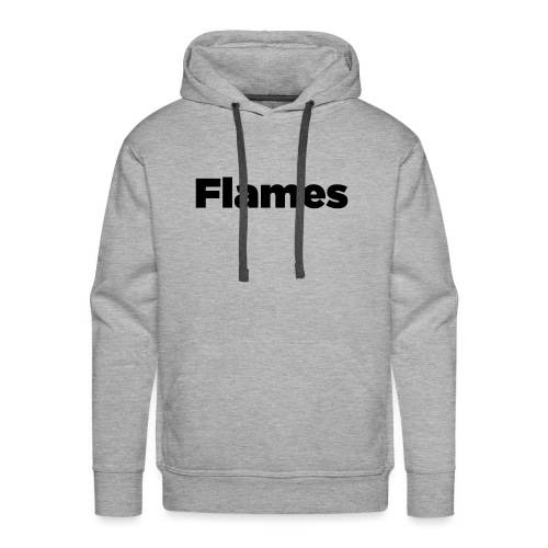 Plump Flames Logo - Men's Premium Hoodie