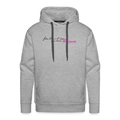 Frère et sœur toujours - Sweat-shirt à capuche Premium pour hommes