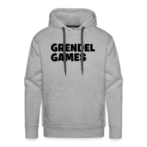 grendel text - Men's Premium Hoodie