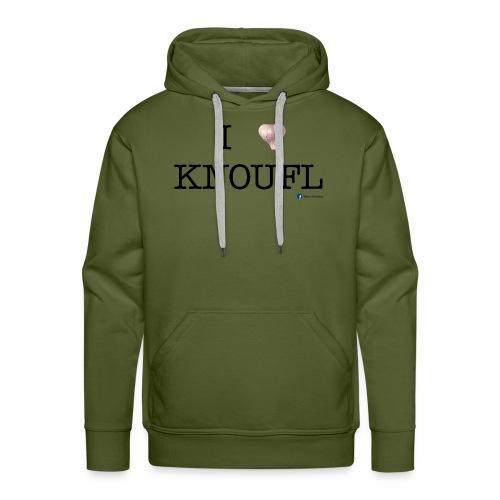 i love knoufl black - Männer Premium Hoodie