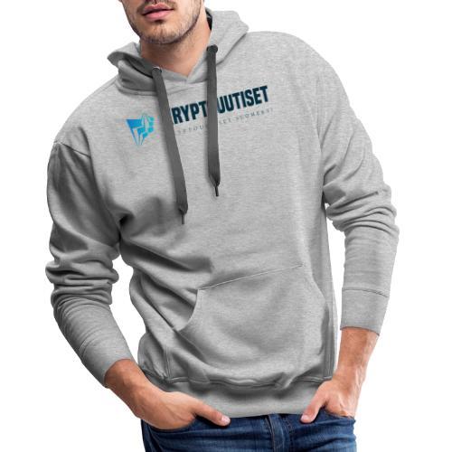 Kryptouutiset.net logo - Miesten premium-huppari