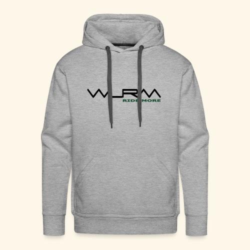 WLRM Schriftzug black png - Männer Premium Hoodie