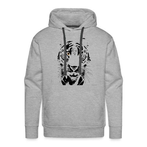 Tigre - Sudadera con capucha premium para hombre