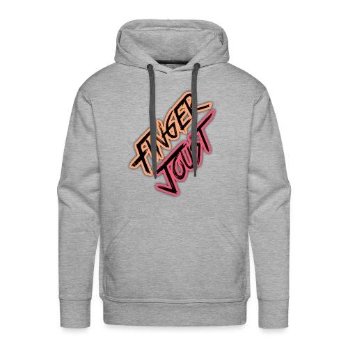 Finger Joust Logo (Alternate Colours) - Men's Premium Hoodie