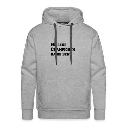 Nilleke Streetwear - Mannen Premium hoodie