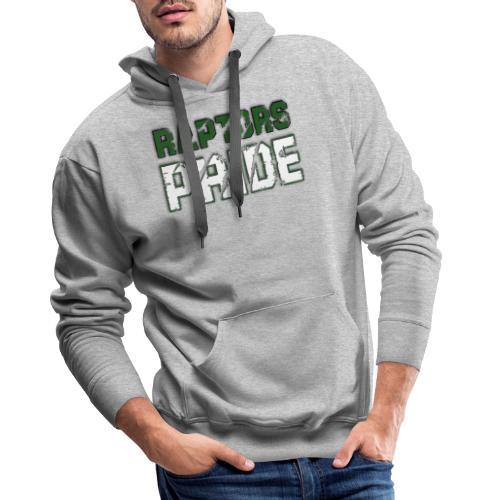 Raptors Pride - grün/weiß - Männer Premium Hoodie