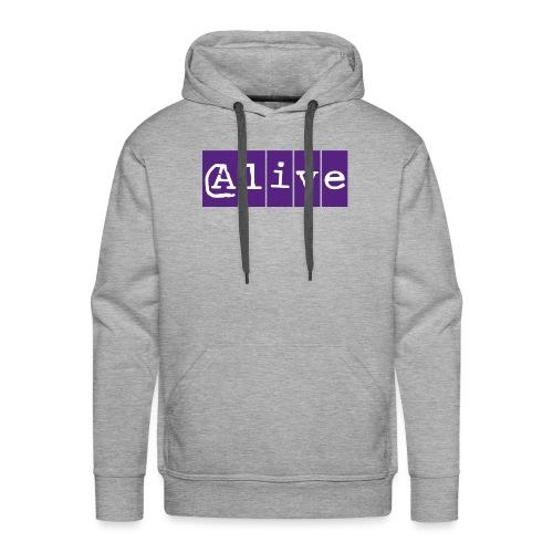 Alive - Mannen Premium hoodie