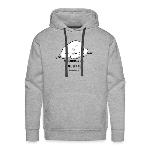 Bobby Bear - Mannen Premium hoodie