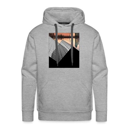 Rotterdam Skyline vs Delftse Poort - Mannen Premium hoodie