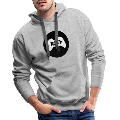 R3K Play Logo - Men's Premium Hoodie