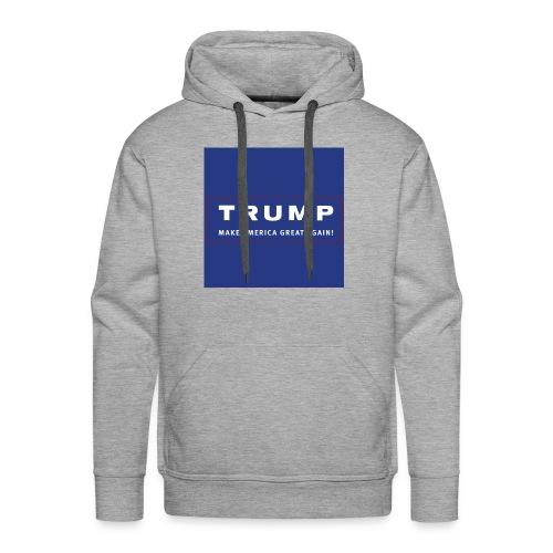 trump - Mannen Premium hoodie