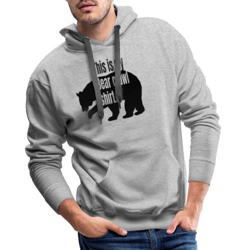 This is my bear crawl shirt - Premiumluvtröja herr