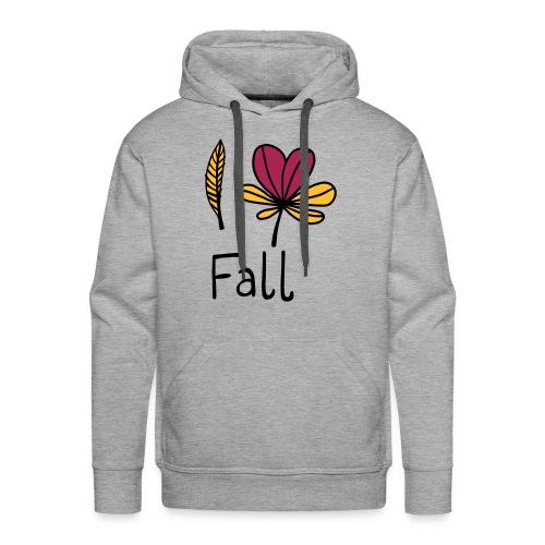 Fall in love - Männer Premium Hoodie