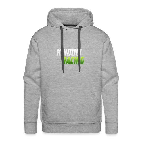 kinduci racing logo - Men's Premium Hoodie