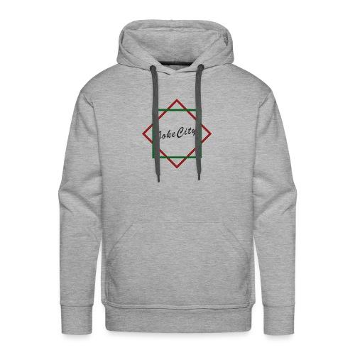 joke city logo - Men's Premium Hoodie