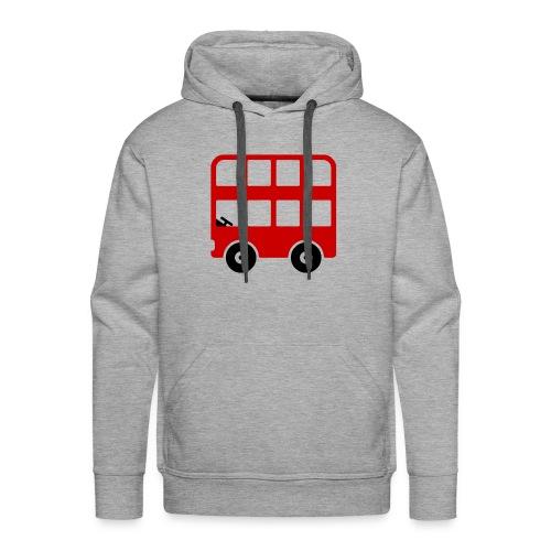 Doppeldecker Bus Comic - Männer Premium Hoodie