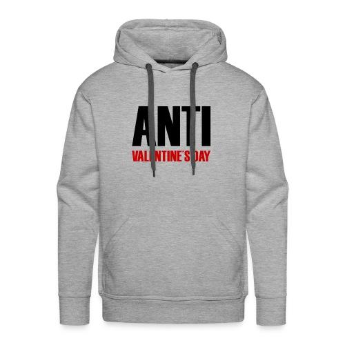 Anti Valentine's Day - Männer Premium Hoodie