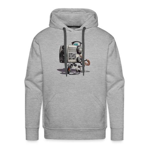 The S.O.U.N.D. Robot! - Herre Premium hættetrøje