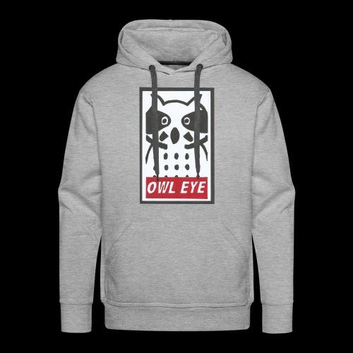 Owl Eye - Männer Premium Hoodie