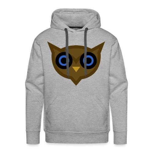 Design Uil - Mannen Premium hoodie