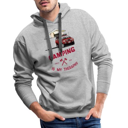Camping is my Theraphy Dachzelt - Männer Premium Hoodie